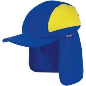 Regatta Protector II Cap Kids oxford blue /spring yellow